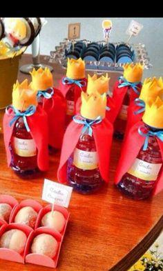 Obsequios fiesta principe Prince Birthday Party, First Birthday Parties, First Birthdays, Little Prince Party, The Little Prince, Royal Party, Candy Party, Frozen Party, Princess Party