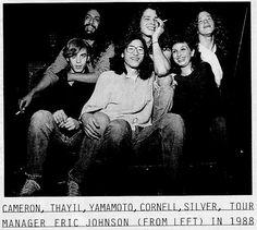 The Soundgarden family in 1988!