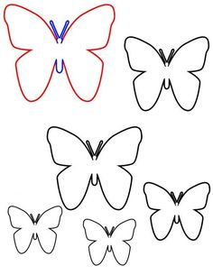 DIY D Butterfly Wall Art With FREE Templates Printables - Wall decals butterfliespatterned butterfly wall decal vinyl butterfly wall decor