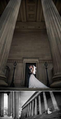 St George's Hall Wedding Photography, Liverpool, architecture.   www.matthewrycraft.co.uk