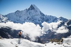 Ueli Steck solos Annapurna south face | Red Bull Adventure
