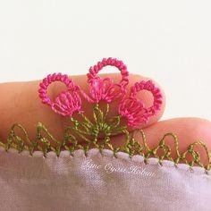Çeyizlik oya Needle Lace, Baby Knitting Patterns, Cuff Bracelets, Amigurumi, Dressmaking, Bangles