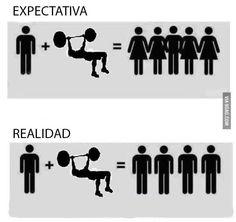 Expectativa vs realidad #Ilustrahumor Ilustra.org