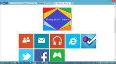 New display of Website mading man 7 jakarta