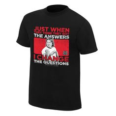"WWE Roddy Piper ""I Change the Questions"" T-Shirt"