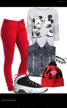 77cc64a48 mickey mouse outfits always be cute Swag Style