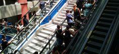Físicos criam modelo para otimizar fluxo de pedestres em metrô