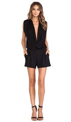 Love romper a, do wear a lot of black and like neckline (Kati)