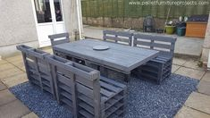 Sunshine Pallet Patio Furniture We were just having a chatter that we must recycle some wooden furniture items The post Sunshine Pallet Patio Furniture appeared first on Pallet Diy. Pallet Garden Furniture, Diy Outdoor Furniture, Pallets Garden, Furniture Projects, Wood Pallets, Outdoor Decor, Wooden Furniture, Outdoor Pallet, Furniture Design
