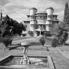 Villa Isola, C.P. Wollf Schoemaker, built in 1933-1934. Bandung, West Java
