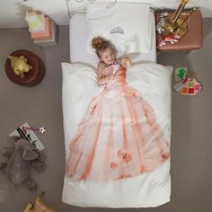 Snurk princess duvet cover
