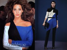 INTO THE ARCHIVES... Gianni Versace 1987 and Versace FW 2015||16 PRE
