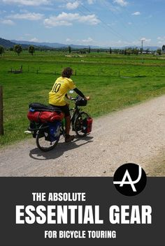 The Absolute Essential Bike Touring Gear For Bicycle Tourers – Best Bike Touring Gear Articles – Bicycle Touring Product Posts