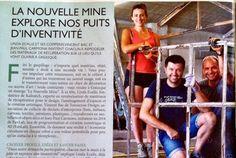 Article Accents La Nouvelle Mine explore nos puits d'inventivité.