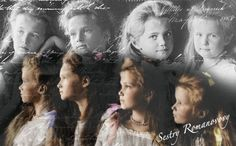Grand Duchess' Olga, Tatiana, Maria, & Anastasia Nikolaevna Romanov