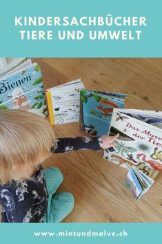 Wie bringt ihr euren Kindern die Natur und Themen wie Umwelt und Klima näher? Eine tolle Möglichkeit sind Kindersachbücher rund um Tiere, Natur und Umwelt. Ideal, um schon kleine Kinder für Umwelt und Nachhaltigkeit zu sensibilisieren.  #forgenerationstoc