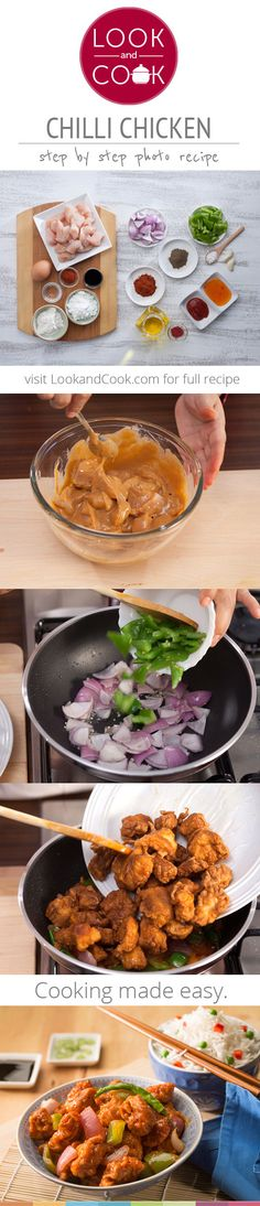 CHILLI CHICKEN RECIPE Chilli chicken(#LC1417):