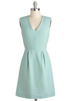 Landscape Architect Dress, #ModCloth #partydress It's adorable! I'm sure my recently-converted architect boyfriend will love its name.