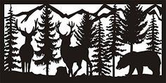 Log Cabin Balcony Panel Railing 24 X 48 Two Bucks Bear Mountains Metal AJD Designs http://www.amazon.com/dp/B00MPN7PG2/ref=cm_sw_r_pi_dp_pU1-tb1JPXKSG