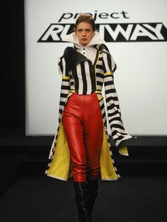 Rank: Advanced to Fashion WeekThe designers were taken to Coney Island to see the Ringling Brothers and Barnum