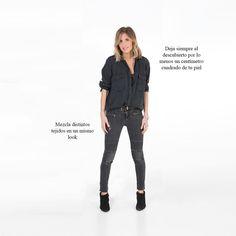 Los trucos para vestir que estilizan las piernas, parecer más alta o cómo repetir look sin que se note. Casual Outfits, Fashion Outfits, Womens Fashion, Fashion Tips, Total Black, Smart Casual Women, Perfect Wardrobe, Fashion Over 40, The Chic