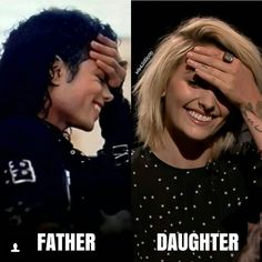 and they say paris isn't his actually kid 🙄 they look so similar! Paris Jackson, Michael Jackson Dance, Michael Jackson Funny, Lisa Marie Presley, Elvis Presley, Familia Jackson, Mj Kids, Jackson Family, Mike Jackson