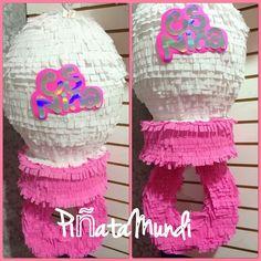 Piñata Baby Shower It's a girl #PiñataMundi