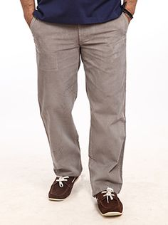 This trendy casual wear is from the 14 wale Corduroy Tf section. This too is pleatless with cross pockets. In an exciting medium gray the Color Plus Select Casual wear is just too modern and dignified. Your handsome personality will not only carry of this great bottom wear very well but will also make your peers and friends vie for it. The best combination with this medium gray bottom would be a dark top or a tee shirt but even a dark checkered would create a great impact. Adorn your ...