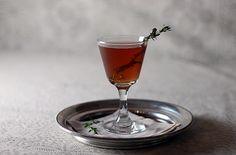 The Cylburn:  1 oz. Ransom Old Tom Gin  1/2 oz. Hayman's Old Tom Gin  3/4 oz. Lustau Manzanilla Sherry  1/2 oz. Bénédictine  2 dashes Angostura Bitters  Sprig of thyme for garnish