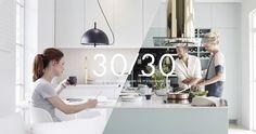 30 kvadratmeter levande kök – Nytt kök badrum och tvättstuga - Vedum kök och bad AB