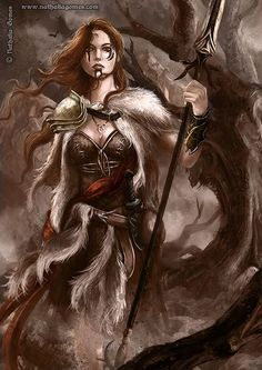Boudica, the bringer of victory by nathaliagomes.deviantart.com on @deviantART #barbarian #battlerager celtic human