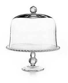 Martha Stewart Collection Serveware, Domed Cake Stands Collection - Serveware - Dining & Entertaining - Macy's
