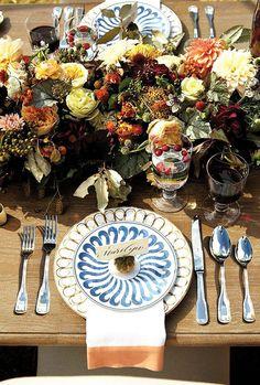 Thanksgiving Place Setting via Waiting On Martha