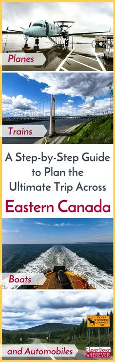 Blueprint For a Road Trip Across Eastern Canada - CleverDever Wherever New Travel, Travel Usa, East Coast Road Trip, Canadian Travel, Visit Canada, Adventure Travel, Adventure Awaits, Travel Guides, Travel Photos