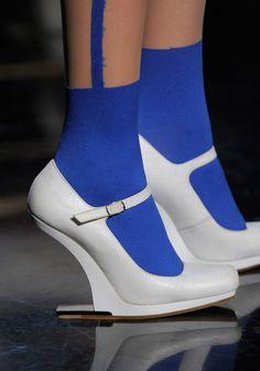 jean paul guthier shoes | ... summer 2012, amazing shoes, catwalk shows, Paris, Jean Paul Gaultier