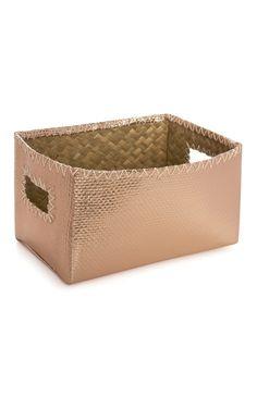 Rose Gold Storage Box