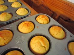 ultimate sourdough cornbread muffins - Great way to use sourdough starter.