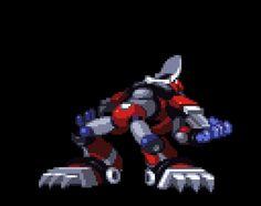 megaman x 4- magma dragoon