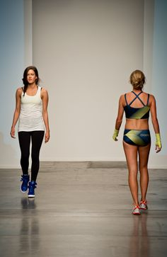 Fashionable Running Apparel by Designer Oiselle Spring Summer 2014 Collections at New York Fashion Week Photographed by Kathleen Clipper