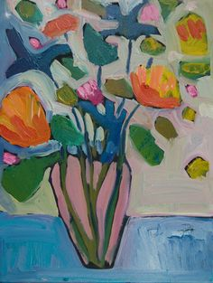 """Contemporary Painting - """""""" (Original Art from Annie OBrien Gonzales)"""