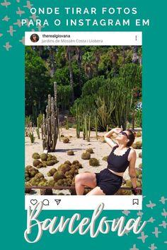 Vai para Barcelona? Não deixe de anotar os lugares mais instagramáveis de Barcelona antes de viajar. Tem até dica de enquadramento no post! Costa, Barcelona, Instagram, Kiss, How To Take Photos, Travel Tips, Viajes, Traveling, Places