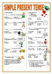 present continuous tense worksheet for kid - ค้นหาด้วย Google ...