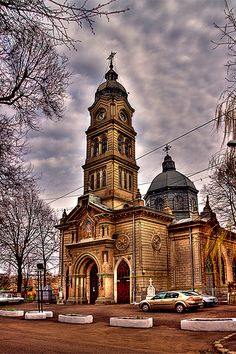 St. Nicolas Church Brâila Famous Castles, Cathedral Church, Place Of Worship, Eastern Europe, Tibet, Homeland, Wonderful Places, Scenery, Places To Visit