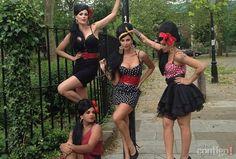 Ana Hickmann vira Amy Winehouse e Beatles em Londres