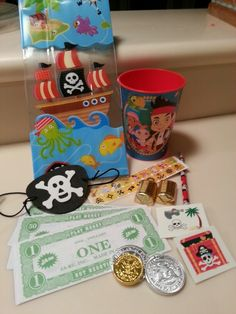 Peter Pan Pirates Treasure Chest Wedding Favors Favours Filled with Gold Coins Neverland Little Mermaid Fairytale Themed Wedding Baby Shower