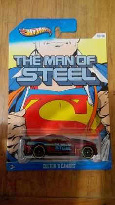 Hot Wheels Superman Series Camaro