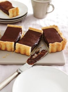 Tart & Pie Recipes: Learn How to Bake Delicious Pies Winter Desserts, Mini Desserts, Chocolate Desserts, No Bake Desserts, Dessert Recipes, Chocolate Tarts, Bakery Recipes, Tart Recipes, Sweet Recipes