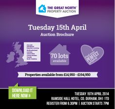 Download our latest GNPA brochure. Tuesday 15th April 2014 from 6.30pm http://www2.iam-sold.co.uk/public/gnpa_brochure_april2014_digital.pdf