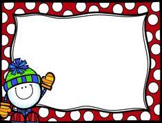 m Christmas Clipart, Christmas Wishes, Christmas Time, Daily Math, Christmas Frames, Preschool Christmas, Frame Clipart, Borders And Frames, Cartoon Kids