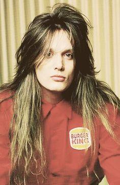 Sebastian Bach - Skid Row - he has such beautiful hair. Sebastian Bach, The Snake, Hair Metal Bands, 80s Hair Bands, Rachel Bolan, Skid Row Band, World Handsome Man, Handsome Boys, Musical Hair